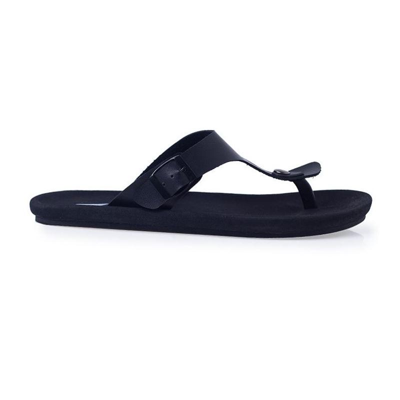 Black Kai Strap Sandals