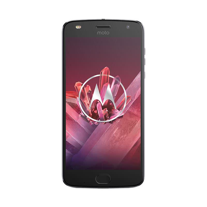 Motorola Moto Z2 Play Smartphone - Lunar Abu Abu [4GB,64GB] Free Gift Box