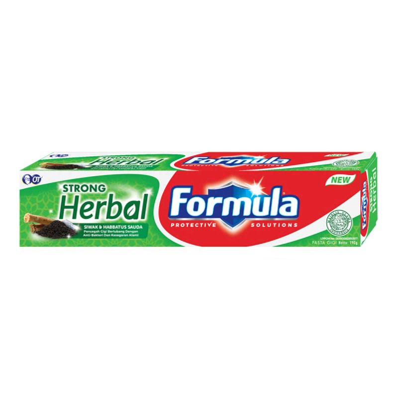 Formula Pasta Gigi Strong Herbal 160 Gr