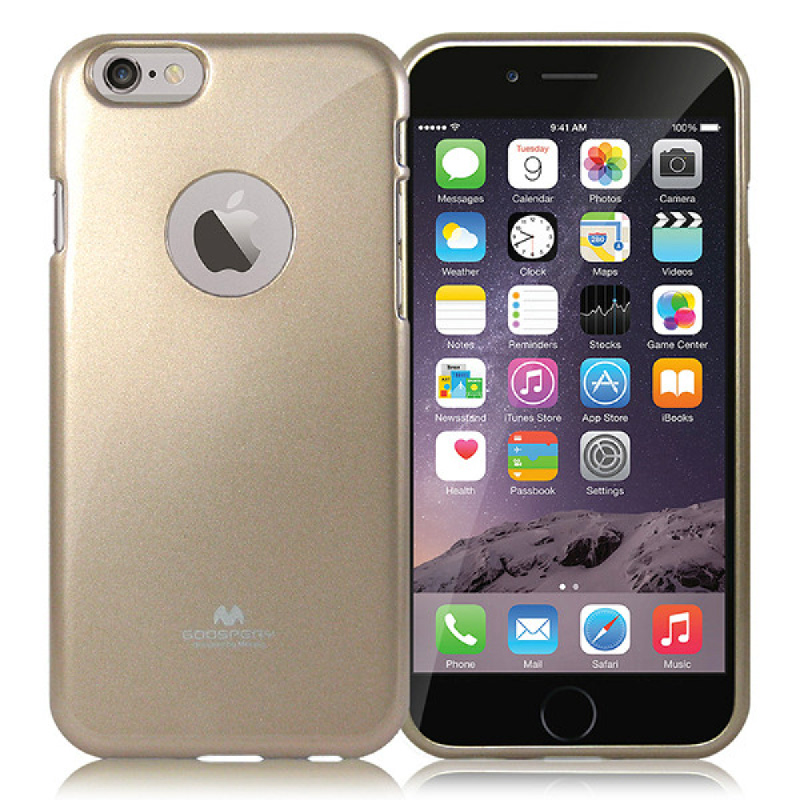 Goospery Jelly Case for iPhone 6 - Gold