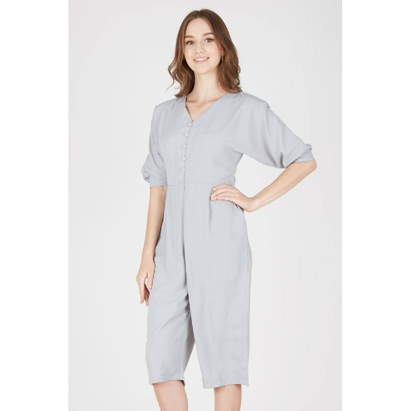 Hilsy Gray Jumpsuit