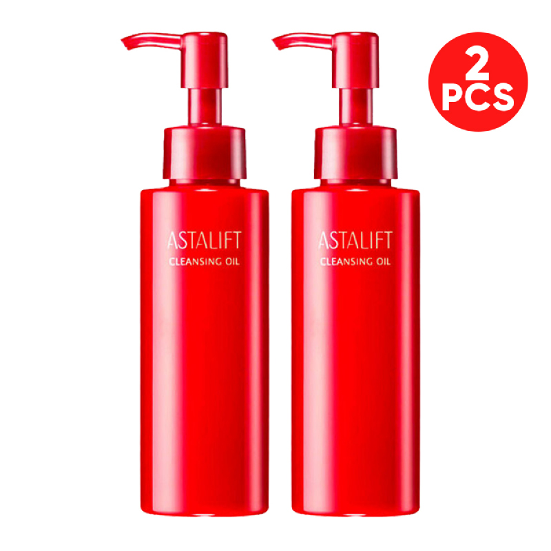 Astalift Red Series Cleansing Oil 120ml 2pcs