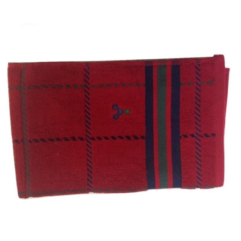 Yawaragi Puro Handuk Mandi Kecil - Merah