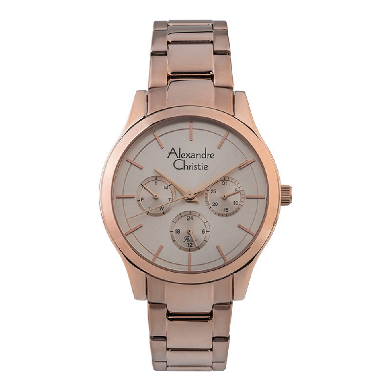 Alexandre Christie Passion AC 2915 BF BRGLN Ladies Rose Gold Dial Rose Gold Stainless Steel