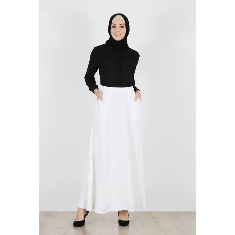 Previa Skirt White