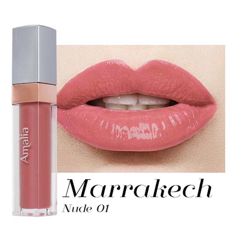 Amalia Glossy Lip Cream Marrakech Nude 01