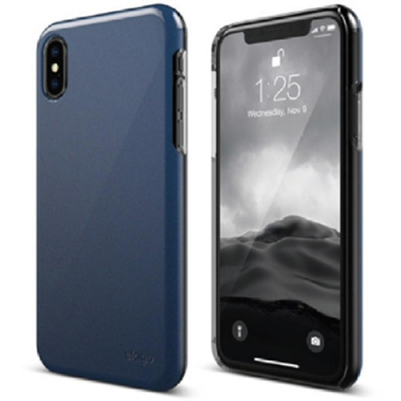 Elago iPhone X Case Slimfit 2 Hard Case - Pearl Blue