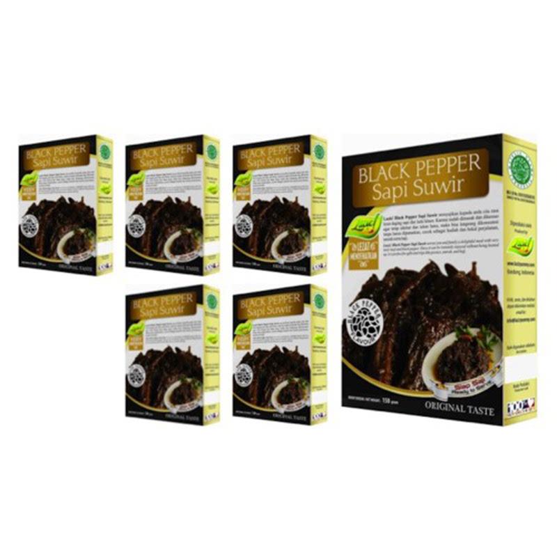 6 BLACK PEPPER SAPI SUWIR