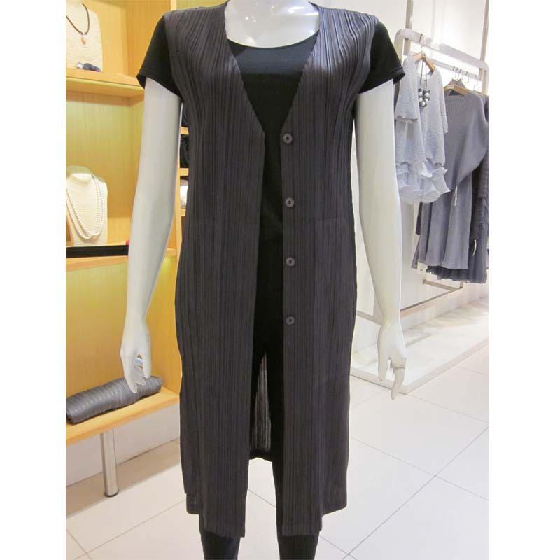 Pleats Kora Dress 1191 Grey