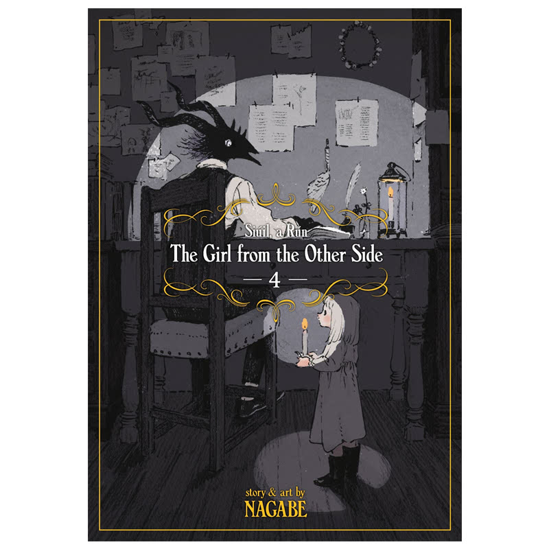 The Girl from the Other Side Siuil, a Run Vol. 4