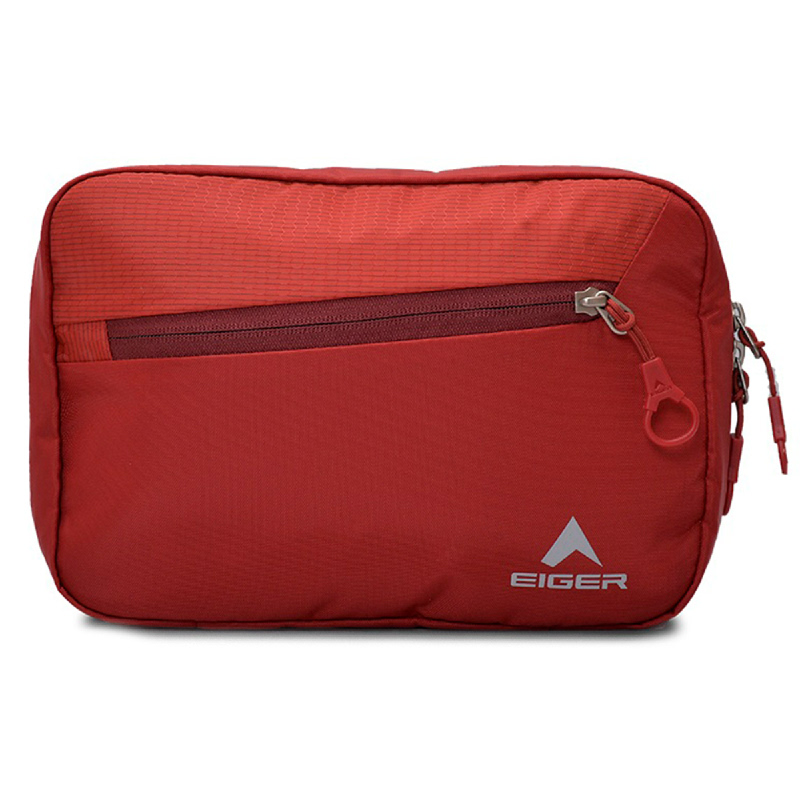 Eiger Pivot Toiletries Bag - Red