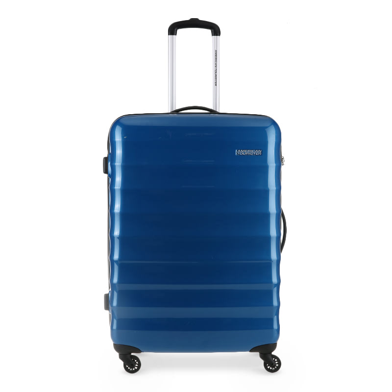 American Tourister Para-Lite Spinner 77-28 R91021003 Snorkel Blue
