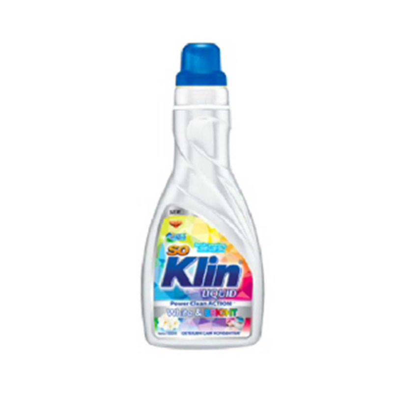 So Klin Liquid White & Bright Botol 1000 Ml