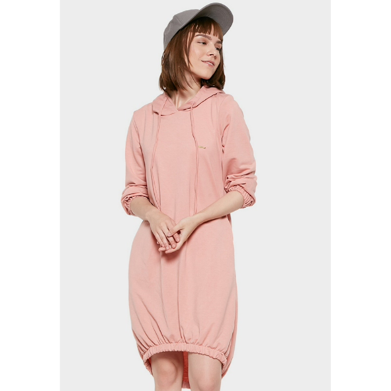 Graphis Sporty Knit Dress Dusty Pink