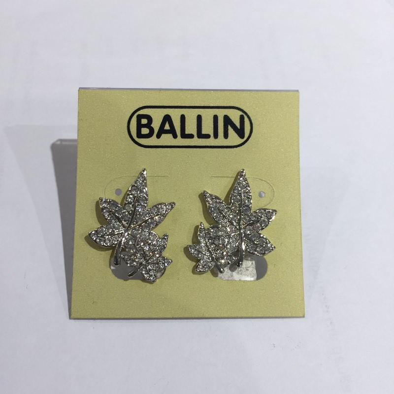 Ballin Women Earing Leaf CB-E55-7241S Silver