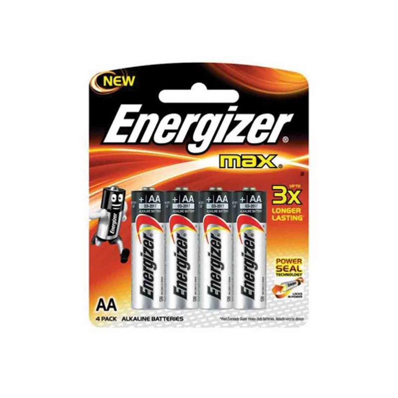 Energizer Baterai E91 AA BP 4