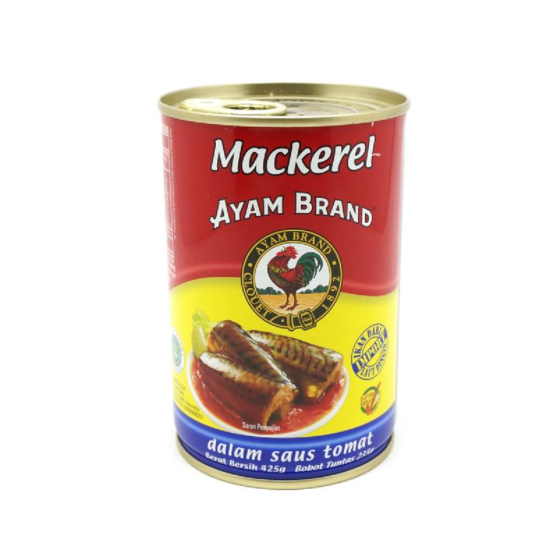 Ayam Brand Mackerel In Tomato 425 Gram