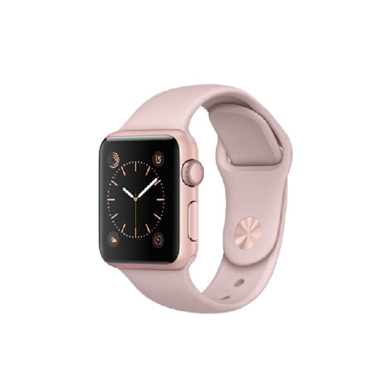 Apple Watch 2 - Series 1 Aluminum 38m Rose Gold + Pink