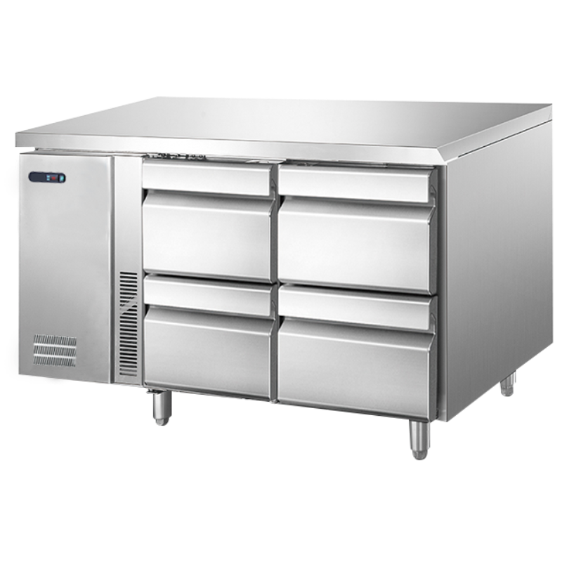 Crown SS Under Counter Chiller TZ-300DW 4 Drawer
