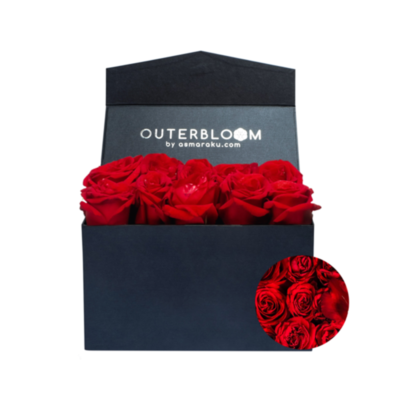 Outerbloom - Letter Box Classic Fiery Red