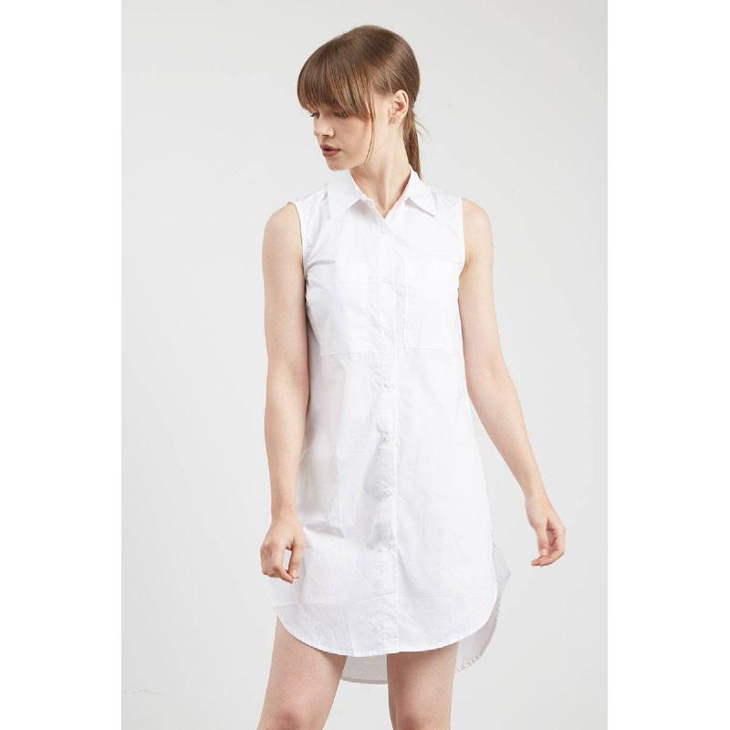 Gwen Hagen Sleeveless Top in White