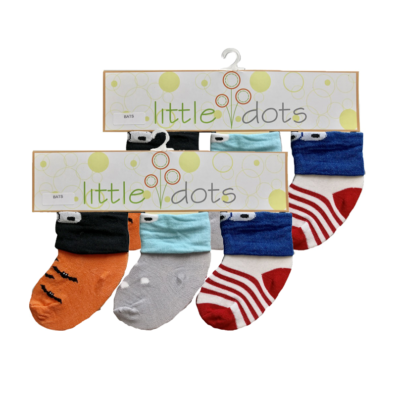 Kaos Kaki Bayi - Bats (Pack of 6)