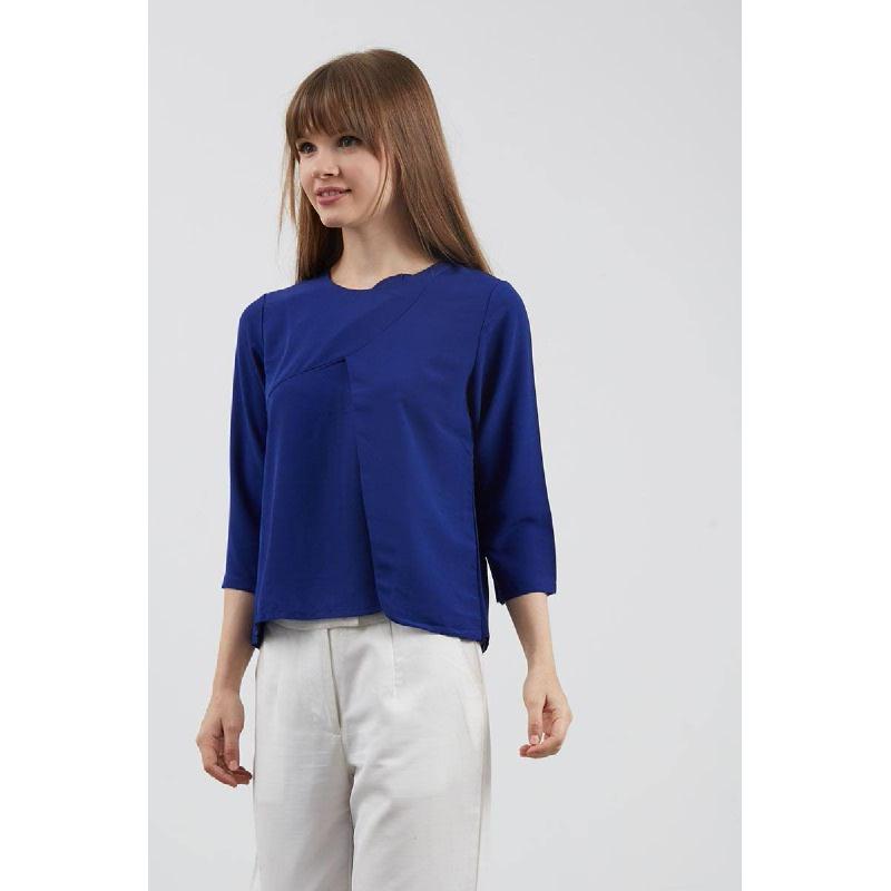 Effie Blue Top