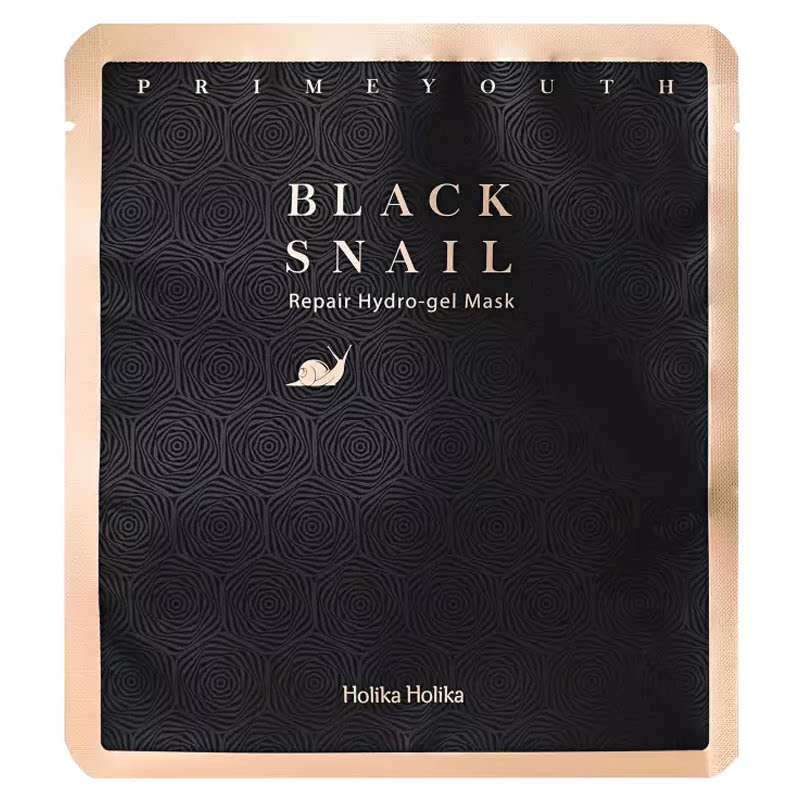 Holika Holika Prime Youth Black Snail Repair Hydrogel Mask