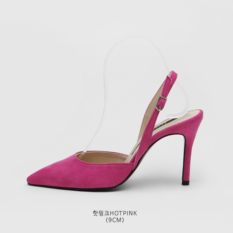 SAPPUN Agent Willie Stelliga Saturday Sling Back Heel (9cm) - Hot Pink