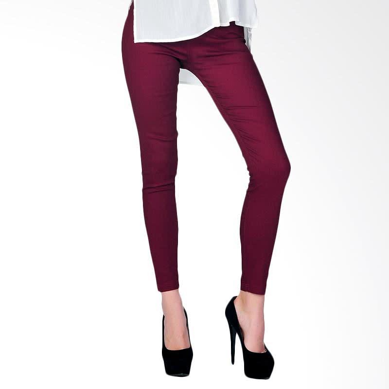 Women's Legging - Maroon