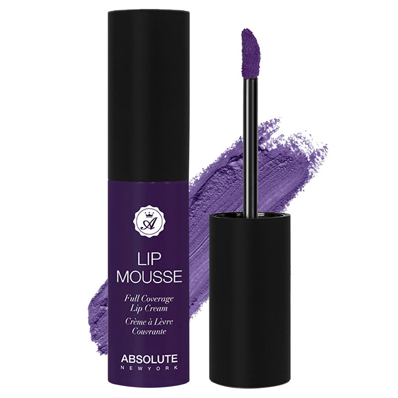 Absolute New York Lip Mousse Full Coverage Lip Cream Royals