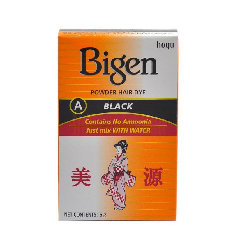 Bigen Powder Hair Color Black 6 Gr