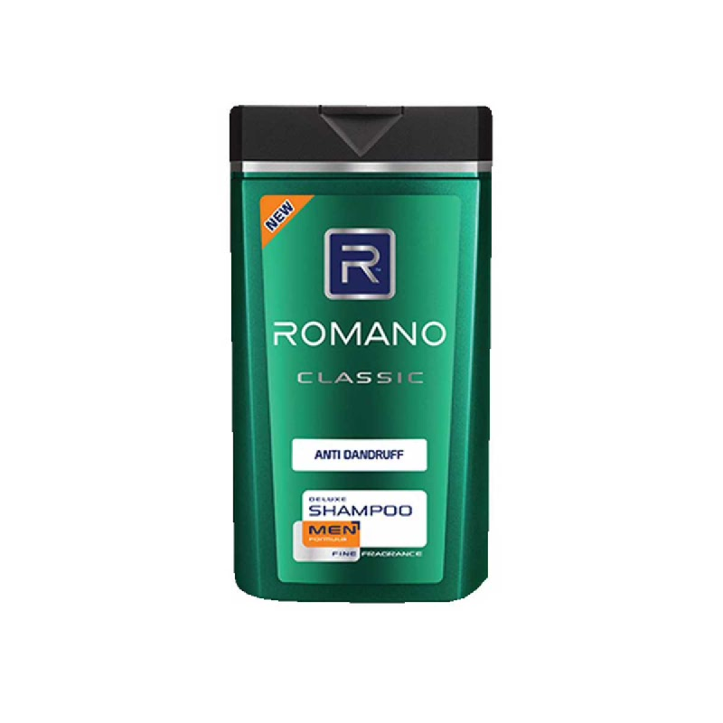 Romano Men Shampoo Classic Anti Dandruff 170 Ml