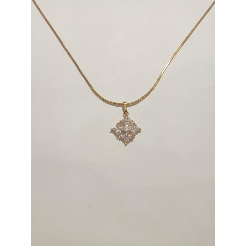 Ballin - Women Necklace FF N0015G Gold