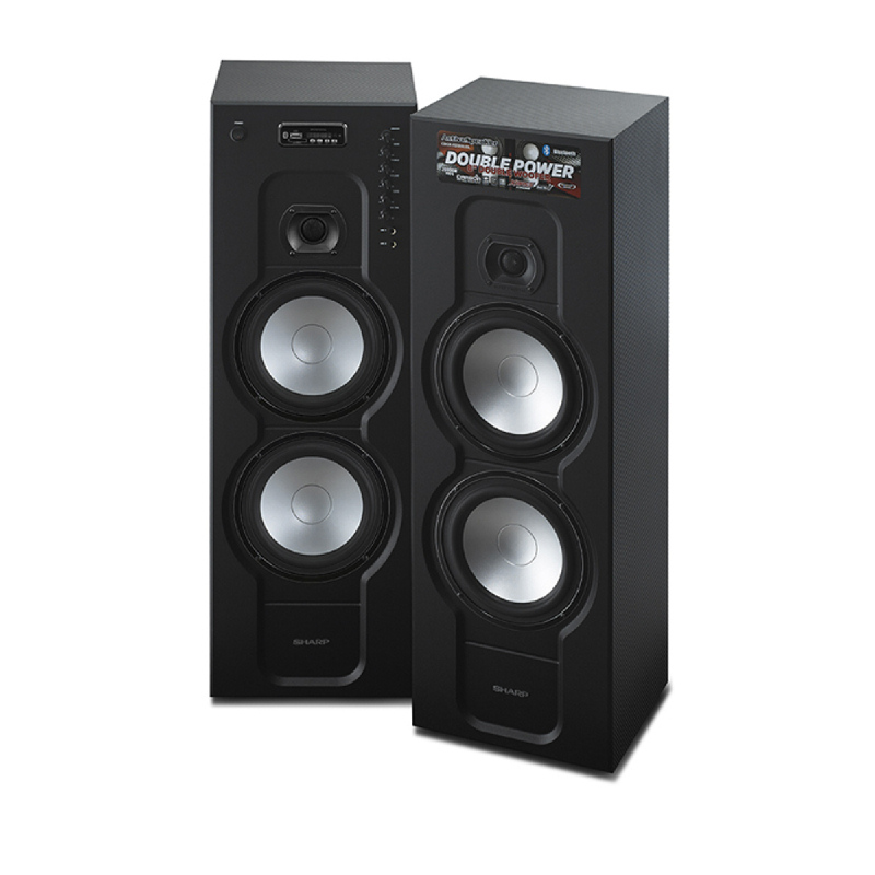SHARP CBOX-RB988UBL Active Speaker
