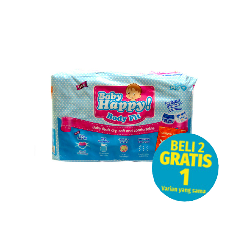 Baby Happy Popok Xl 20 S (Buy 2 Get 1)