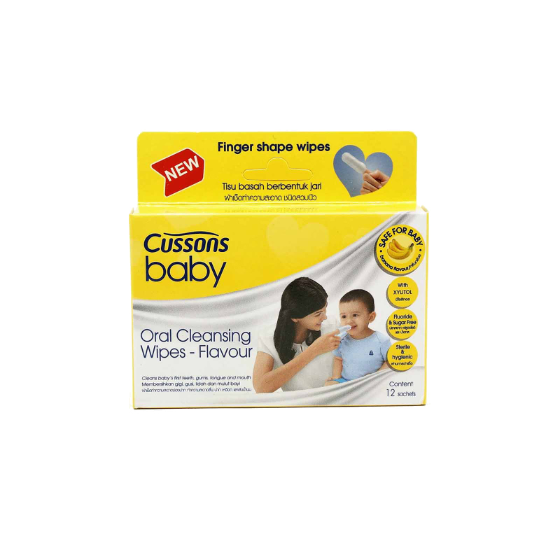 Cussons Baby Wipes Oral Cleansing Flavour