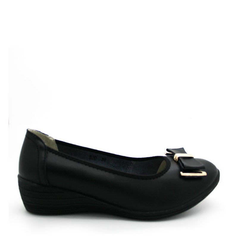 Anca 820 Flat Shoes  Black