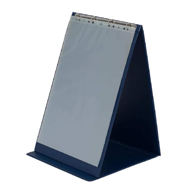Bantex Flipover Portrait A3 (Include 5 pockets 5 papers) Blue -5503 01