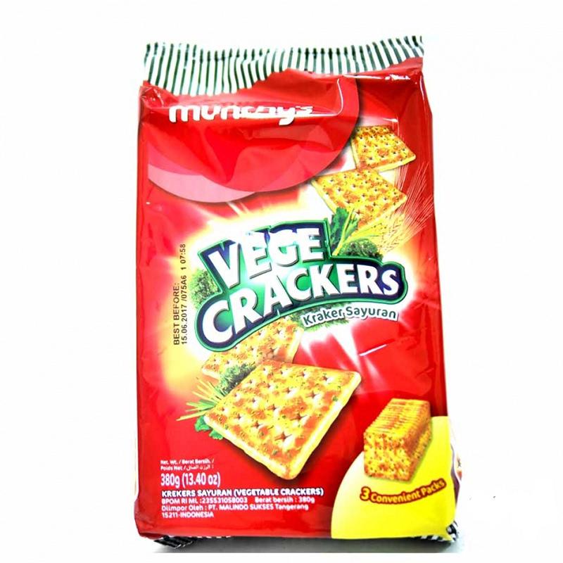 Munchy's Kreker Sayuran 380g