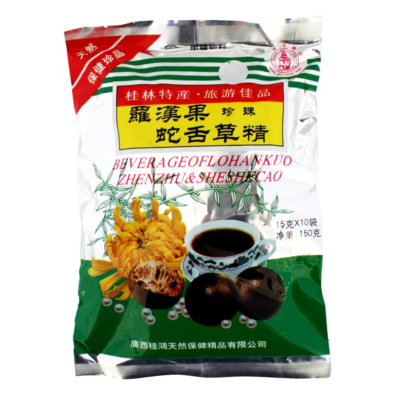 Beverage Of Lohankuo Zhenzhu & Sheshecao