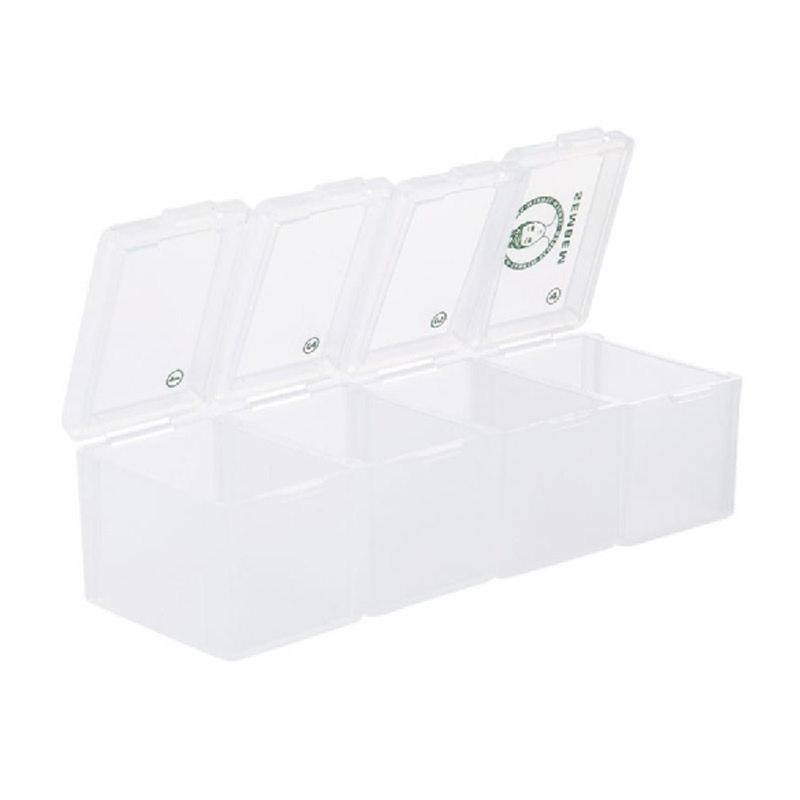 Detachable 4 Compartment Pill box L