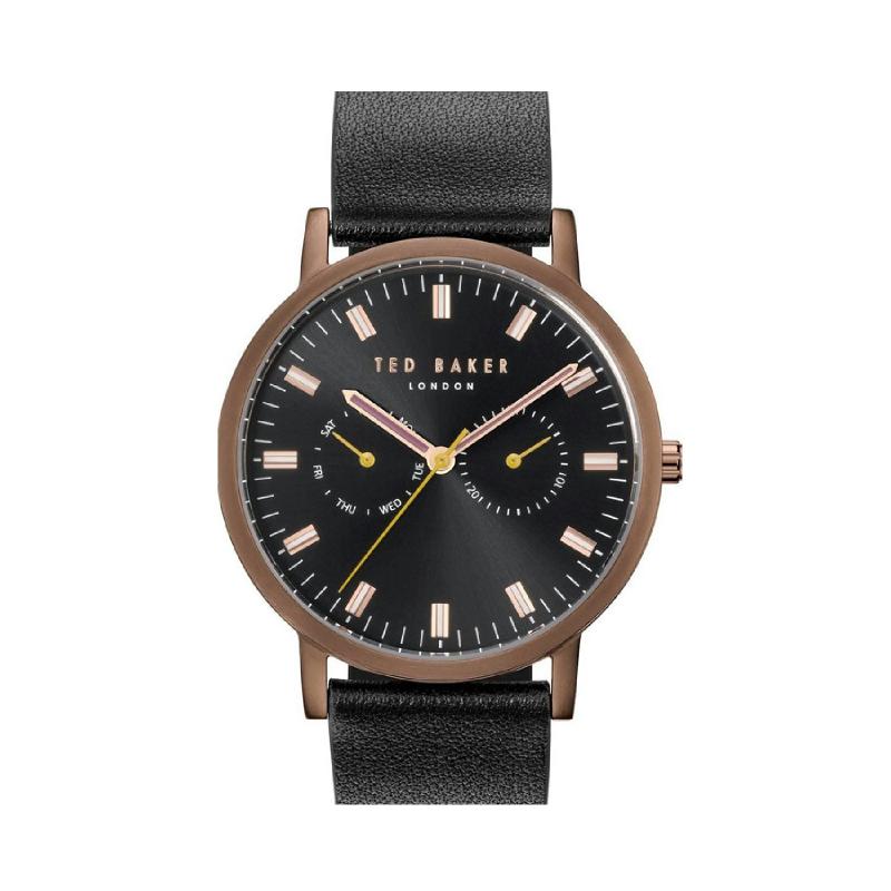 Ted Baker TE50274014 Men Watch Leather Strap Black