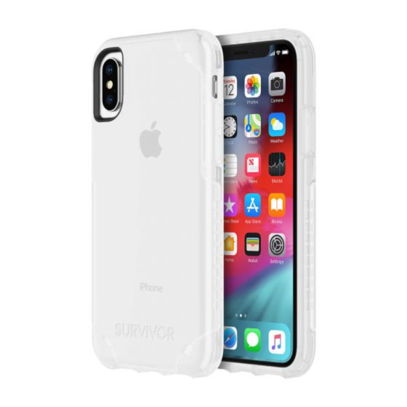 Griffin Survivor Strong for iPhone Xs & iPhone X - Clear (GIP-008-CLR)