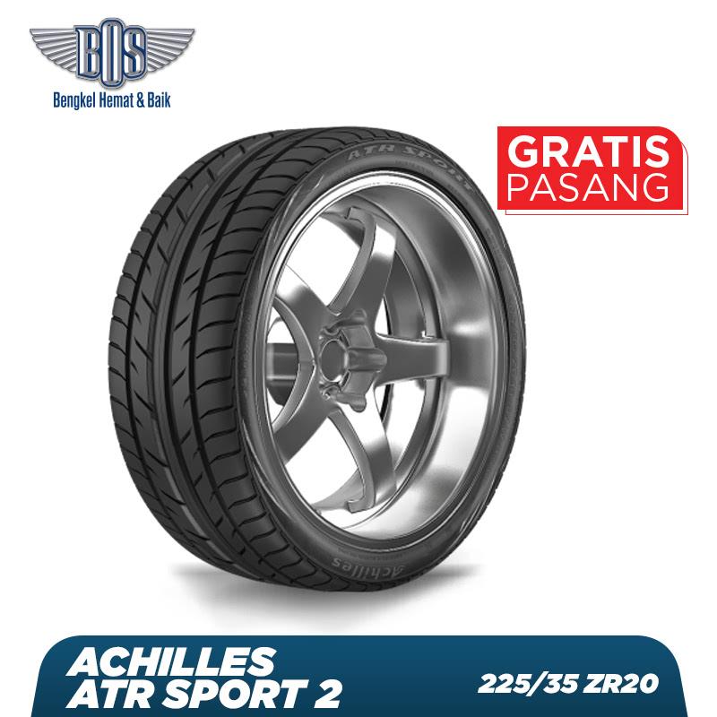 Achilles Ban Mobil  ATR Sport 2 - 225-35 ZR20 90W XL - GRATIS JASA PASANG DAN BALANCING