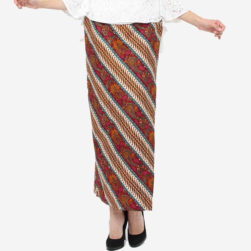 Anakara Maxi Wrap Skirt Lemera Red