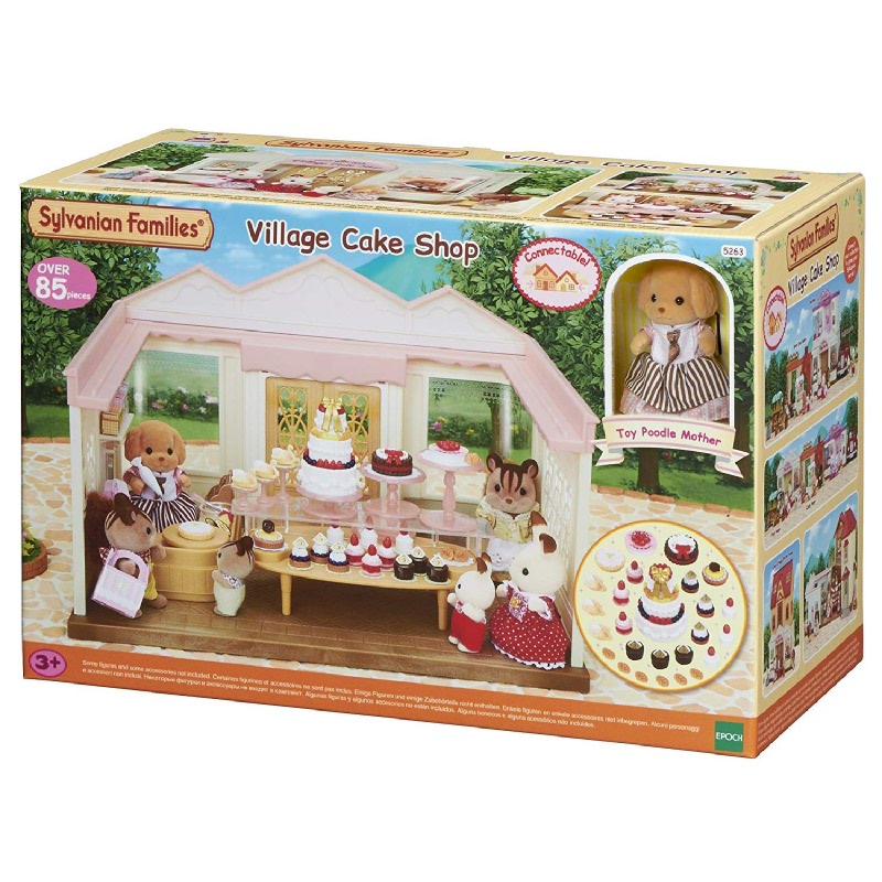 Sylvanian Families Village Cake Shop ESFD52630