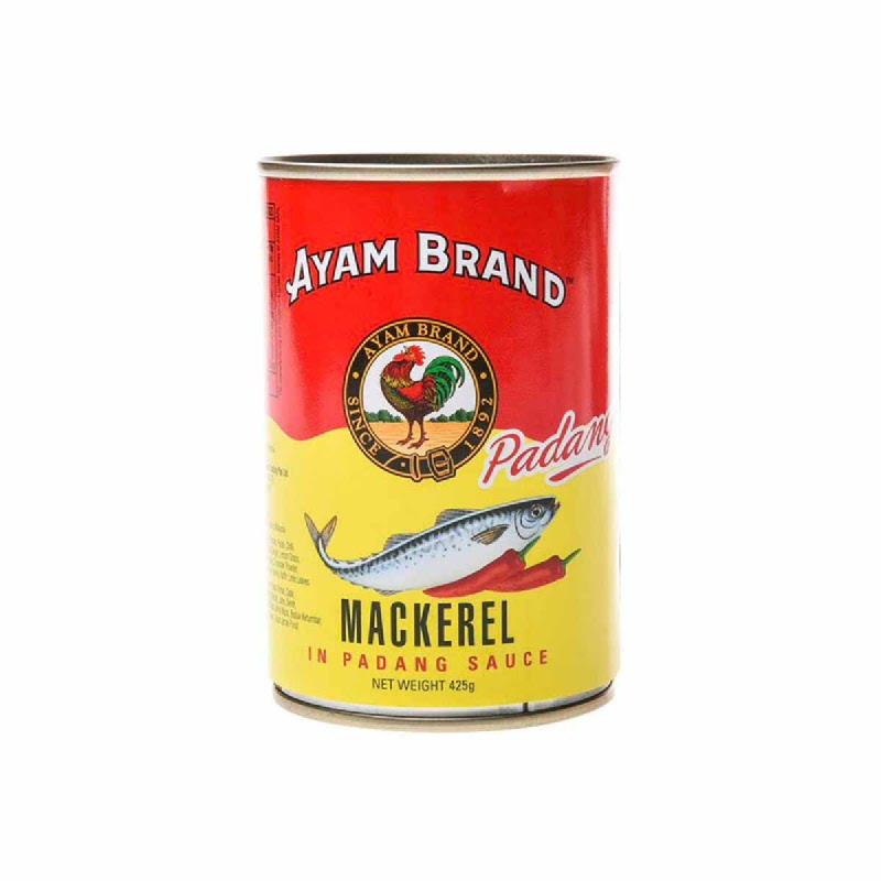 Ayam Brand Mackerel Saus Padang 425 Gr