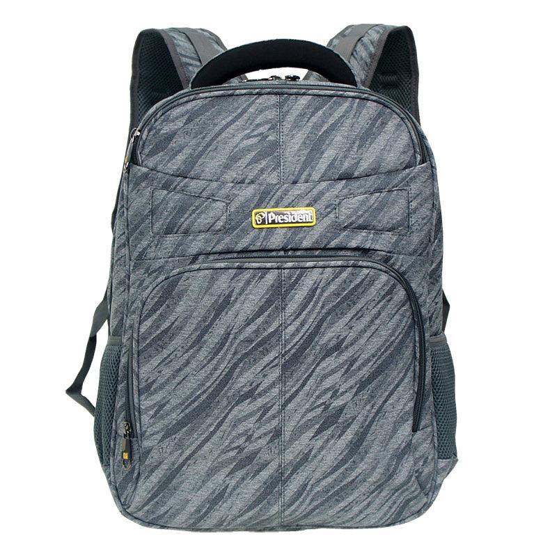 President Backpack 06585-03 Grey