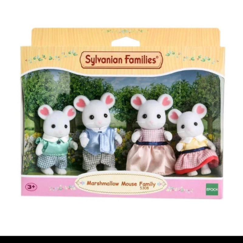 Sylvanian Families Marshmallow Mouse Family ESFF53080